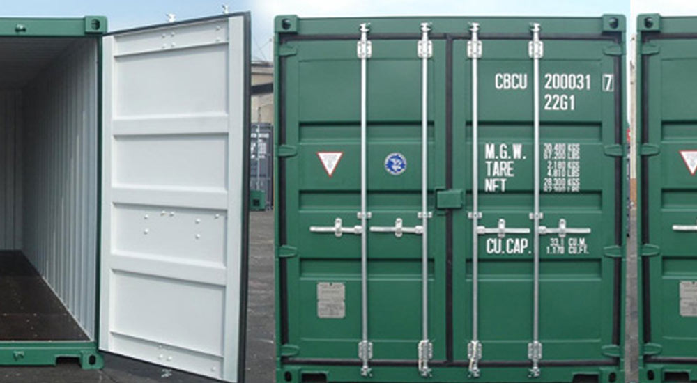 Storage Containers for Hire in Sudbury Suffolk by Peter Brand Farms